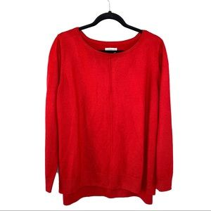 Croft & Barrow Red Knitted Sweater